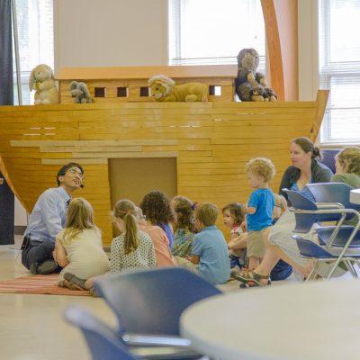 Children's time during Worship